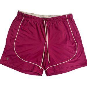 Athleta Hot Pink Athletic Shorts, Women's Size M